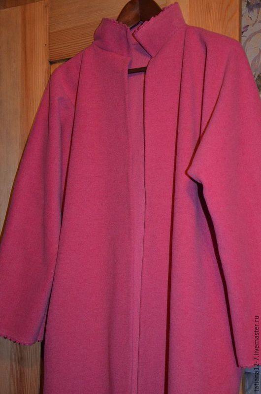 """Верхняя одежда ручной работы. Ярмарка Мастеров - ручная работа. Купить """" Fucsia """"  эксклюзивное пальто ручной работы. Handmade."""