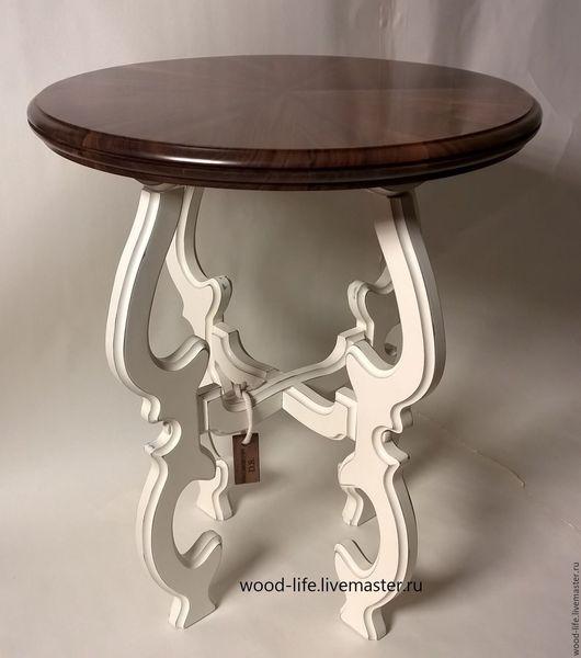 Мебель ручной работы. Ярмарка Мастеров - ручная работа. Купить Журнальный столик. Handmade. Комбинированный, американский орех, столик