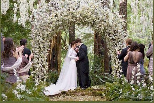 Оформление свадьбы в стиле Сумерки