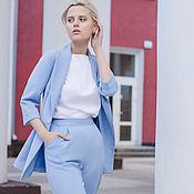 Одежда handmade. Livemaster - original item Suit pant suit women`s viscose. Handmade.