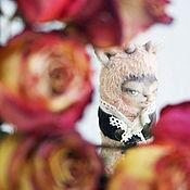 Куклы и игрушки ручной работы. Ярмарка Мастеров - ручная работа Авторская игрушка, котолень Ренет. Вискоза антик Тедди кот олень. Handmade.