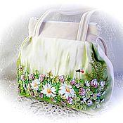 Сумки и аксессуары handmade. Livemaster - original item Bag handmade velour