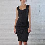 Одежда ручной работы. Ярмарка Мастеров - ручная работа Жаккардовое платье 028. Handmade.