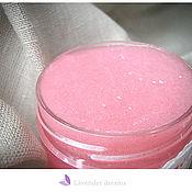 """Косметика ручной работы. Ярмарка Мастеров - ручная работа """"Розовый сахар"""" скраб для тела. Handmade."""