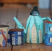 """Посуда ручной работы. Ярмарка Мастеров - ручная работа Сервиз """" По улицам старой Европы"""". Handmade."""