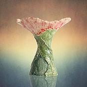 """Для дома и интерьера ручной работы. Ярмарка Мастеров - ручная работа Ваза """"Цветочный сон"""". Handmade."""