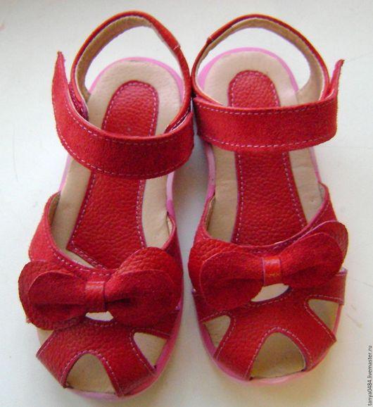 Детская обувь ручной работы. Ярмарка Мастеров - ручная работа. Купить Босоножки. Распродажа.. Handmade. Обувь ручной работы