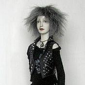Куклы и игрушки ручной работы. Ярмарка Мастеров - ручная работа Ночь Авторская коллекционная кукла. Handmade.