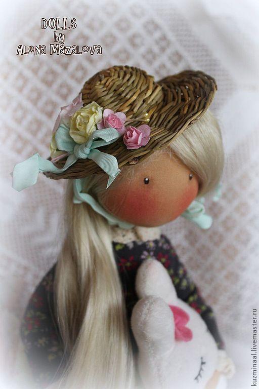 Коллекционные куклы ручной работы. Ярмарка Мастеров - ручная работа. Купить ANNABELLE.... Handmade. Кукла, куклы и игрушки, интерьерная кукла