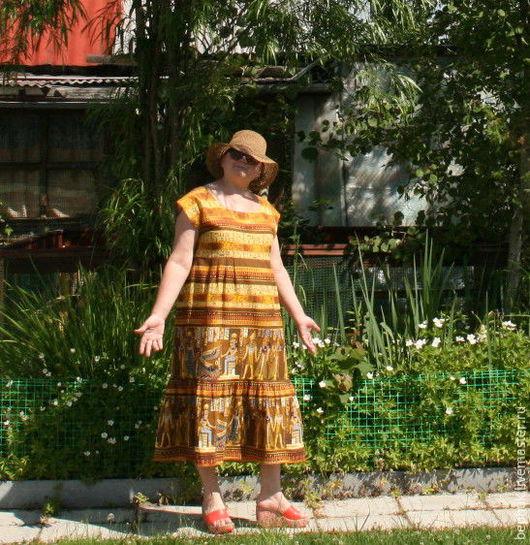 Легкое, приятное платье из бязи.