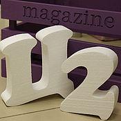 Материалы для творчества ручной работы. Ярмарка Мастеров - ручная работа Буквы - заготовки из пенопласта. Handmade.