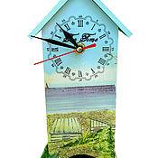 """Для дома и интерьера ручной работы. Ярмарка Мастеров - ручная работа Чайный домик """"У самого синего моря"""". Handmade."""