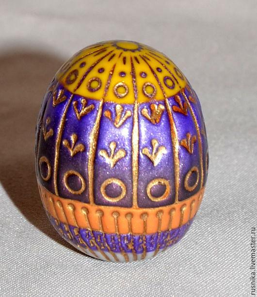 Яйца ручной работы. Ярмарка Мастеров - ручная работа. Купить N9 Яйцо из полимерной глины МИСТИЧЕСКИЙ ФИОЛЕТ. Handmade. Комбинированный
