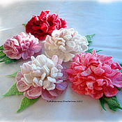 Украшения ручной работы. Ярмарка Мастеров - ручная работа Bouquet de fleurs.... Handmade.