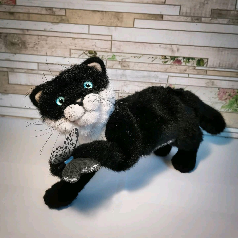 Котенок игрушка, котик игрушка, Тедди Зверята, Санкт-Петербург,  Фото №1