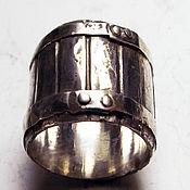 Украшения ручной работы. Ярмарка Мастеров - ручная работа кольцо винная бочка. Handmade.