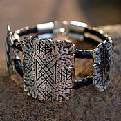 Фен-шуй и эзотерика handmade. Livemaster - original item Runic bracelet protective. Handmade.
