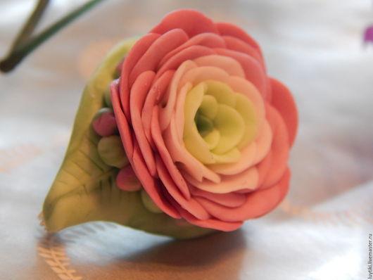 """Броши ручной работы. Ярмарка Мастеров - ручная работа. Купить Брошка """"Лютик"""".. Handmade. Розовый, подарки ручной работы"""
