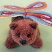 Куклы и игрушки ручной работы. Ярмарка Мастеров - ручная работа Кэнди - мини мишка. Handmade.