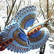 """Наборы ручной работы. Ярмарка Мастеров - ручная работа Подарок универсальный птица счастья """"Голубая мечта"""". Handmade."""