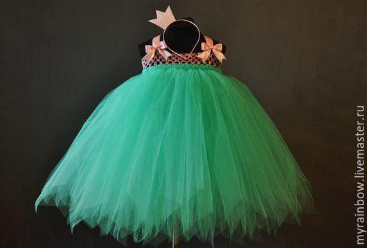 """Детские карнавальные костюмы ручной работы. Ярмарка Мастеров - ручная работа. Купить Костюм """"Принцесса"""" . Платье+корона на ободке. Handmade."""