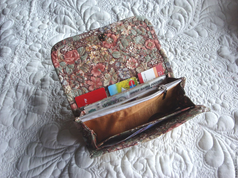 267a30459e6dc Заказать Текстильный кошелек