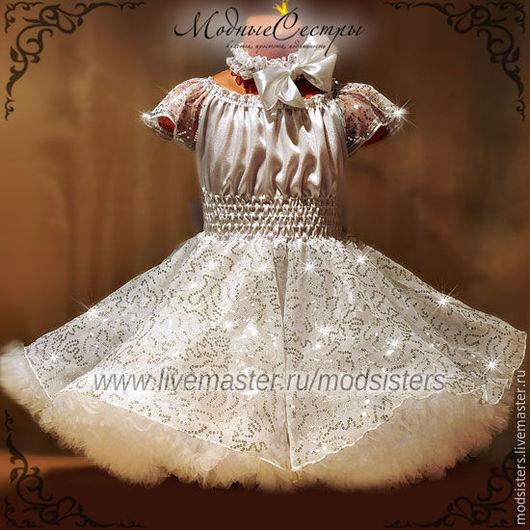 """Одежда для девочек, ручной работы. Ярмарка Мастеров - ручная работа. Купить Детское платье """"Королева"""" Арт.329. Handmade. Для детей"""