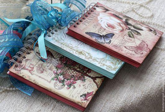 Блокноты ручной работы. Ярмарка Мастеров - ручная работа. Купить Блокноты. Handmade. Голубой, блокнот в мягкой обложке