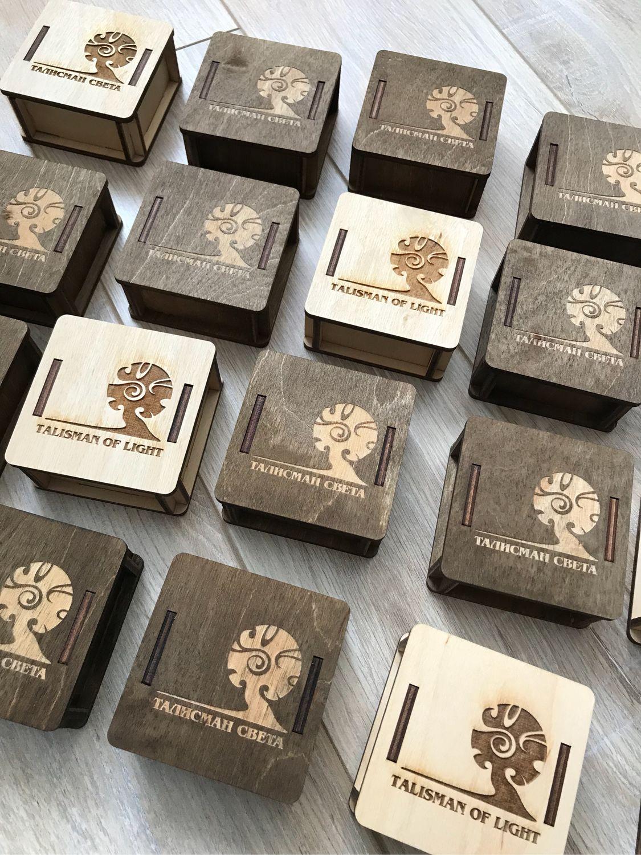 Упаковка ручной работы. Ярмарка Мастеров - ручная работа. Купить Коробка деревянная 8*8*3 см. Handmade. Фотосессия, деревянная коробка