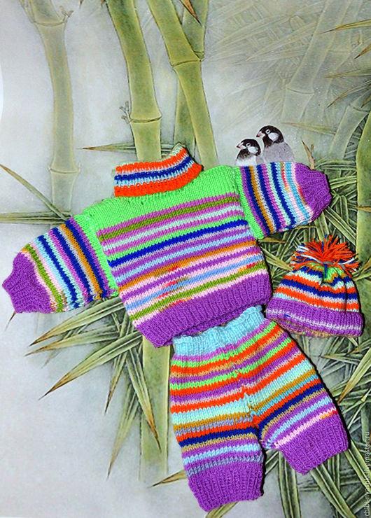 Одежда для кукол ручной работы. Ярмарка Мастеров - ручная работа. Купить Комплект одежды для мишки тедди. Handmade. Одежда на мишку