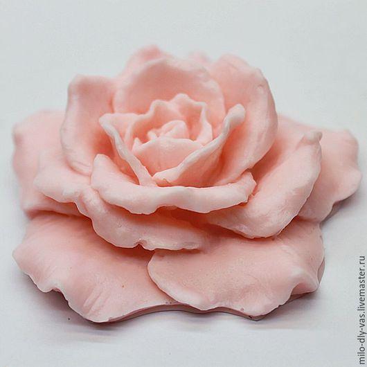 Мыло Роза ручной работы, сувенирное мыло с ароматом розы купить.