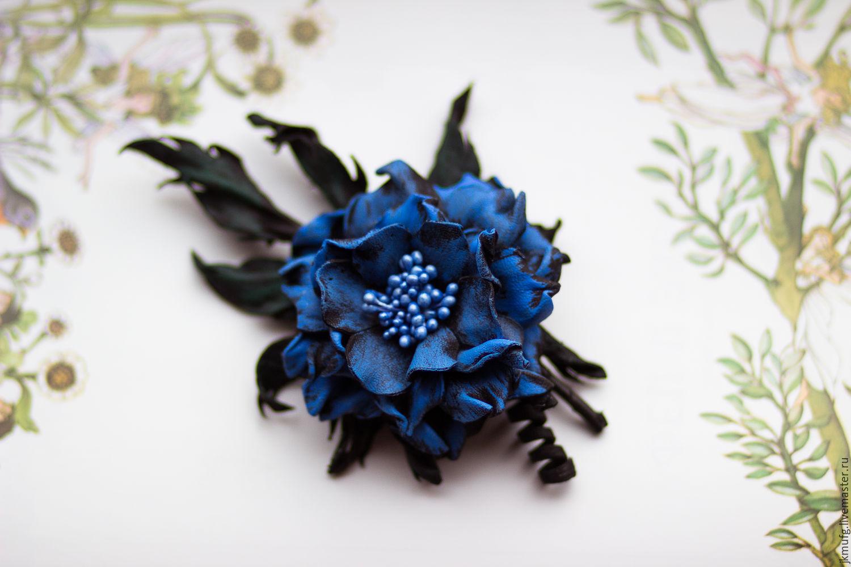 Как сделать цветок-брошь своими руками - Домашний 96