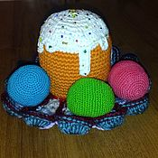 Подарки к праздникам handmade. Livemaster - original item Easter composition № 4. Handmade.