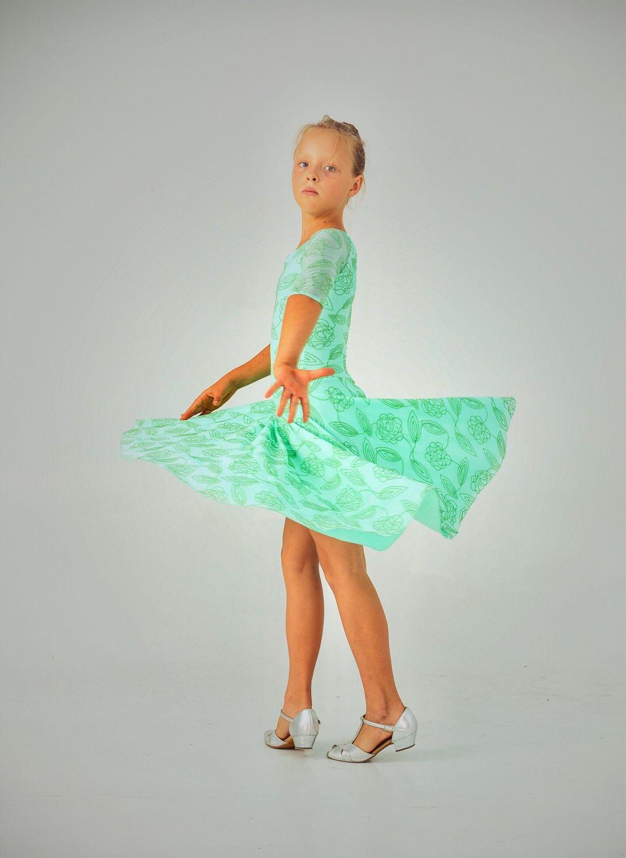Платье рейтинговое танцевальное
