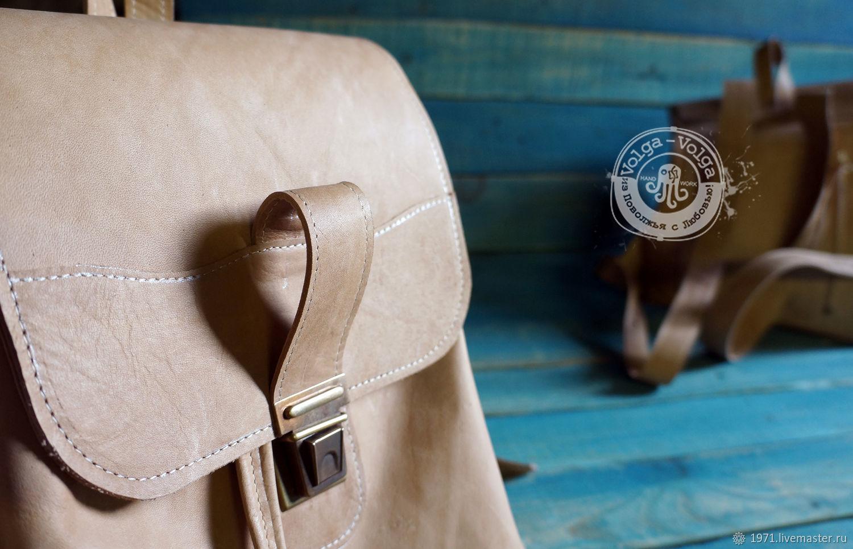 Городской рюкзак из кожи, Рюкзаки, Тольятти,  Фото №1