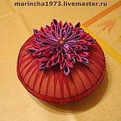 """Для дома и интерьера ручной работы. Ярмарка Мастеров - ручная работа Шкатулка """"Хризантема"""". Handmade."""