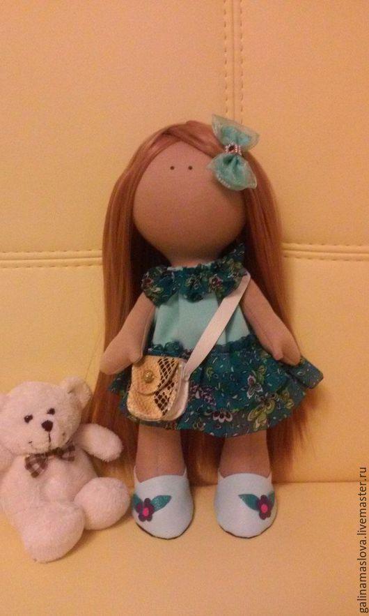 Коллекционные куклы ручной работы. Ярмарка Мастеров - ручная работа. Купить Интерьерная кукла-малышка. Handmade. Кукла ручной работы