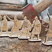 Материалы для творчества handmade. Livemaster - original item Figures for painting: the heroes. Handmade.