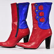 """Обувь ручной работы. Ярмарка Мастеров - ручная работа Сапоги """"Зергияр"""". Handmade."""