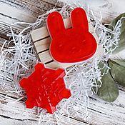 """Мыло ручной работы. Ярмарка Мастеров - ручная работа Подарочный набор из двух мыл ручной работы """"Джелли"""". Handmade."""