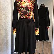 Одежда ручной работы. Ярмарка Мастеров - ручная работа Платье в русском стиле. Handmade.