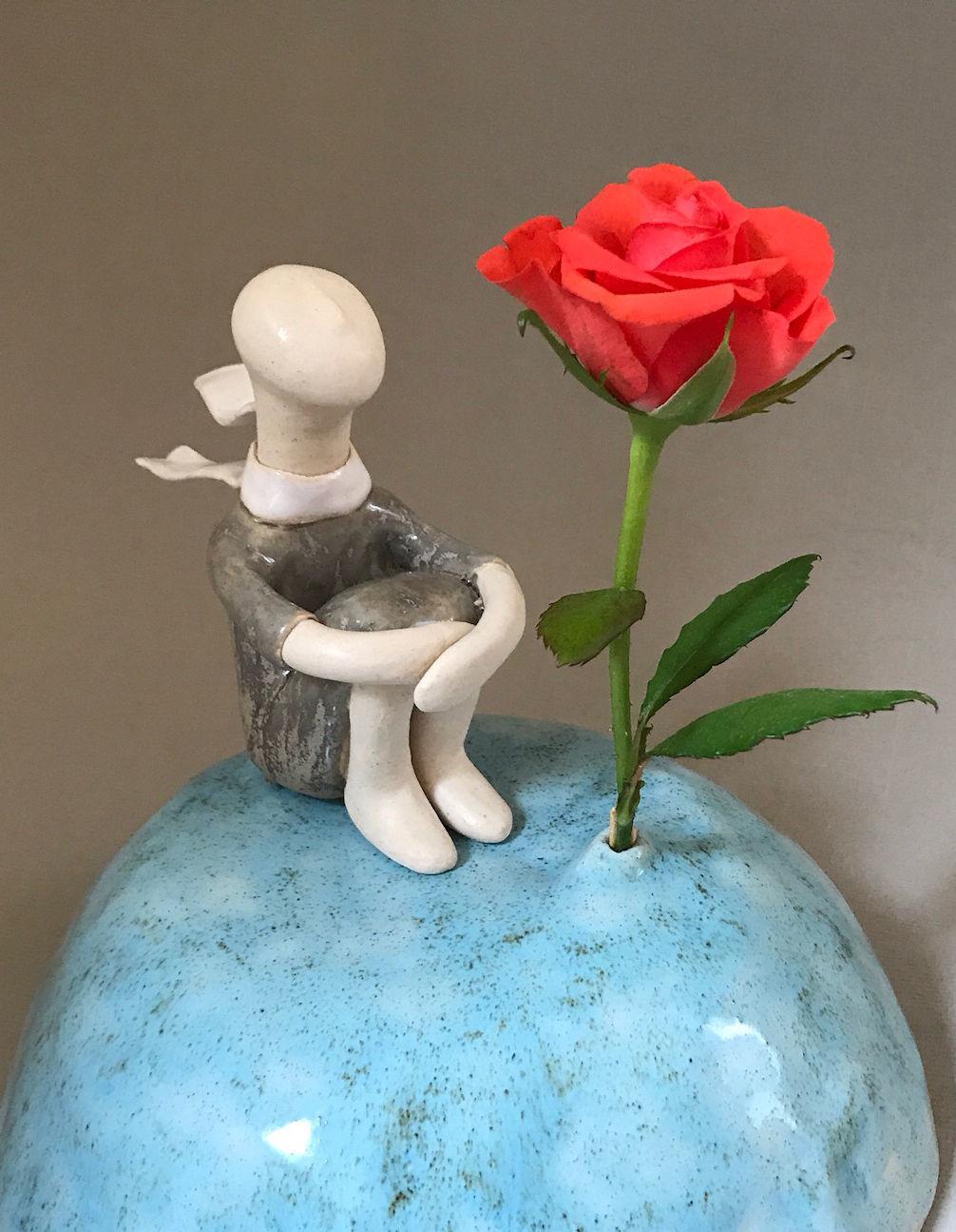 """Вазочка для  одной розы """" Единственная"""""""