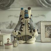Куклы и игрушки ручной работы. Ярмарка Мастеров - ручная работа Северный Мишка. Handmade.