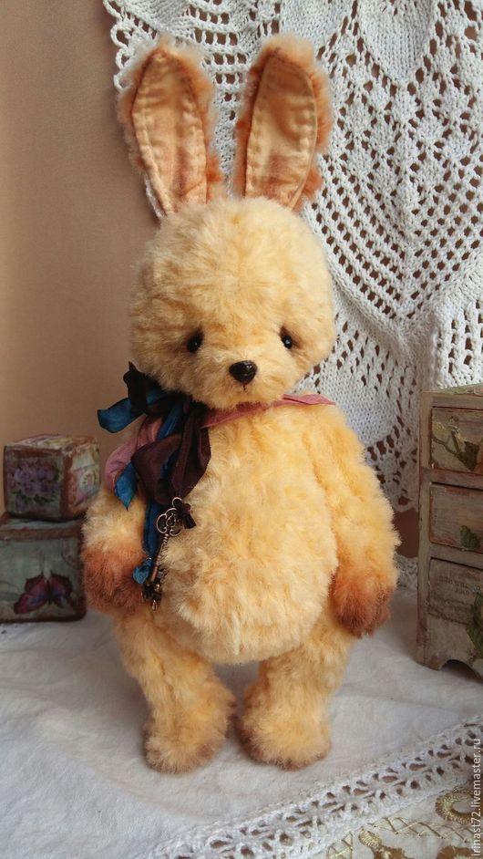 Мишки Тедди ручной работы. Ярмарка Мастеров - ручная работа. Купить Лучик. Handmade. Лимонный, мишка тедди, вискоза