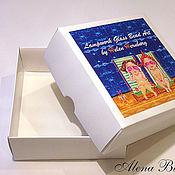 Материалы для творчества ручной работы. Ярмарка Мастеров - ручная работа Цветная коробочка с вашим логотипом. Handmade.
