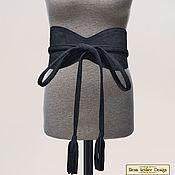 Аксессуары handmade. Livemaster - original item Belt with tassels made of natural suede. Handmade.
