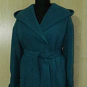 Одежда ручной работы. Ярмарка Мастеров - ручная работа пальто -оверсайз-плед. Handmade.