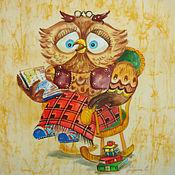 Картины и панно ручной работы. Ярмарка Мастеров - ручная работа Уютный вечер. Handmade.