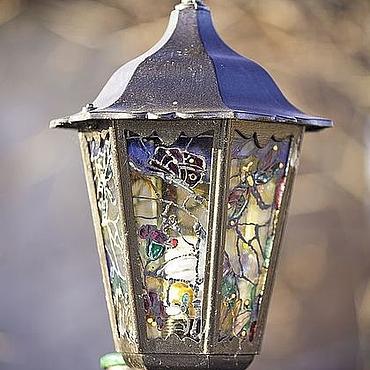 Для дома и интерьера ручной работы. Ярмарка Мастеров - ручная работа Декоративный фонарь. Handmade.