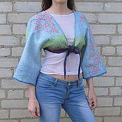 """Одежда ручной работы. Ярмарка Мастеров - ручная работа Болеро """"Цветущая вишня"""". Handmade."""